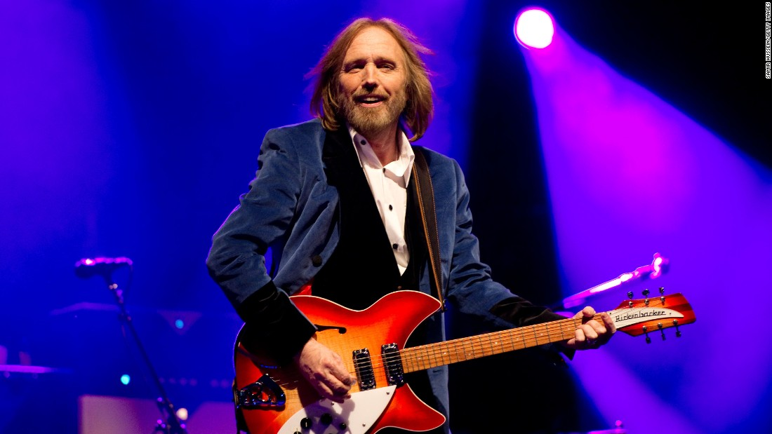 "Rock legend<a href=""http://www.cnn.com/2017/10/03/entertainment/tom-petty-obit/index.html"" target=""_blank""> Tom Petty </a>died October 2 after suffering cardiac arrest at his home in Malibu, California, according to Tony Dimitriades, longtime manager of Tom Petty and the Heartbreakers. Petty was 66."