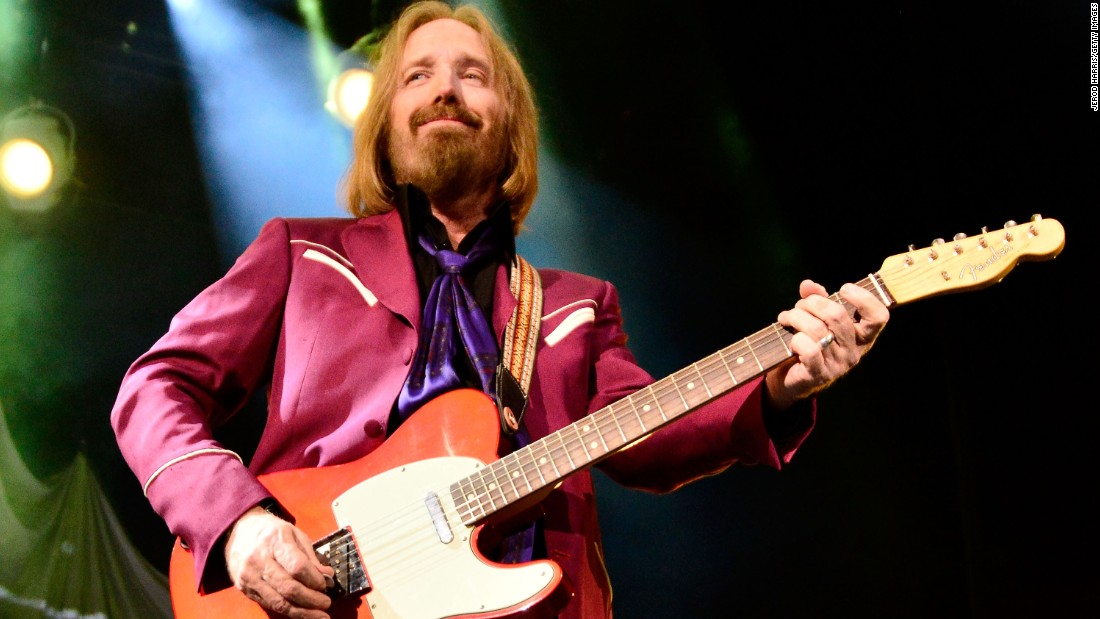 Petty kicks off his band's summer tour in 2014.
