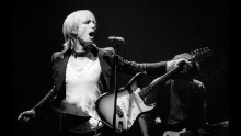 NEW YORK - NOVEMBER 11: Tom Petty and the Heartbreakers perform live at The Palladium in New York on November 11 1979 (Photo by Richard E. Aaron/Redferns)