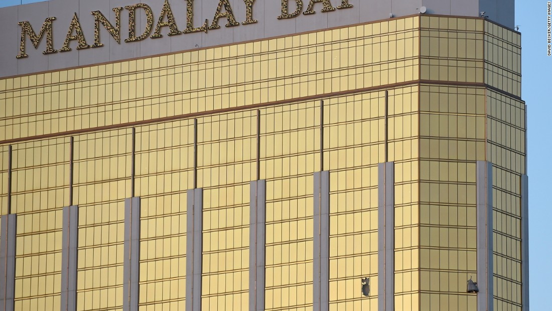 Hotel staff interacted with Las Vegas shooter more than 10 times before massacre
