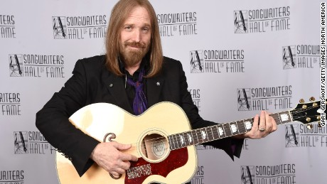 FILE  OCTOBER 02:  According to reports October 2, 2017 musician Tom Petty was found unconscious and rushed to a hospital after possibly suffering from a cardiac arrest at his home in Malibu, California. NEW YORK, NY - JUNE 09:  Tom Petty attends Songwriters Hall Of Fame 47th Annual Induction And Awards at Marriott Marquis Hotel on June 9, 2016 in New York City.  (Photo by Gary Gershoff/Getty Images for Songwriters Hall Of Fame)