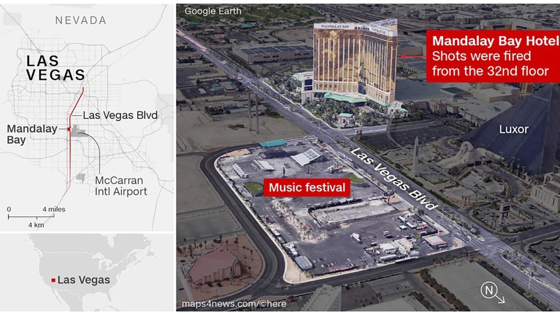 Las Vegas shooting: Live updates