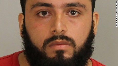 Ahmad Khan Rahimi, accused of injuring 29 people by setting off bombs in New York and New Jersey in September, was charged Wednesday in New Jersey and Manhattan.