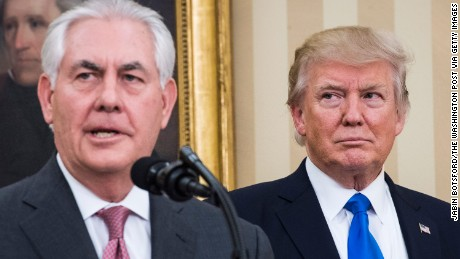 Tensions escalate after Tillerson calls Trump 'moron'