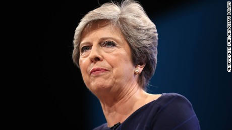 British Prime Minister Theresa May is set to meet fellow party leaders to discuss the current scandal.