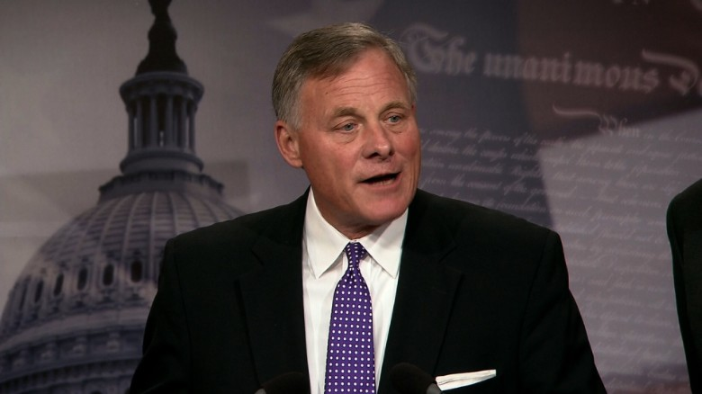 Sen. Burr: Our involvement in Comey firing done