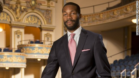 Randall Woodfin, who was elected mayor of Birmingham, Alabama.