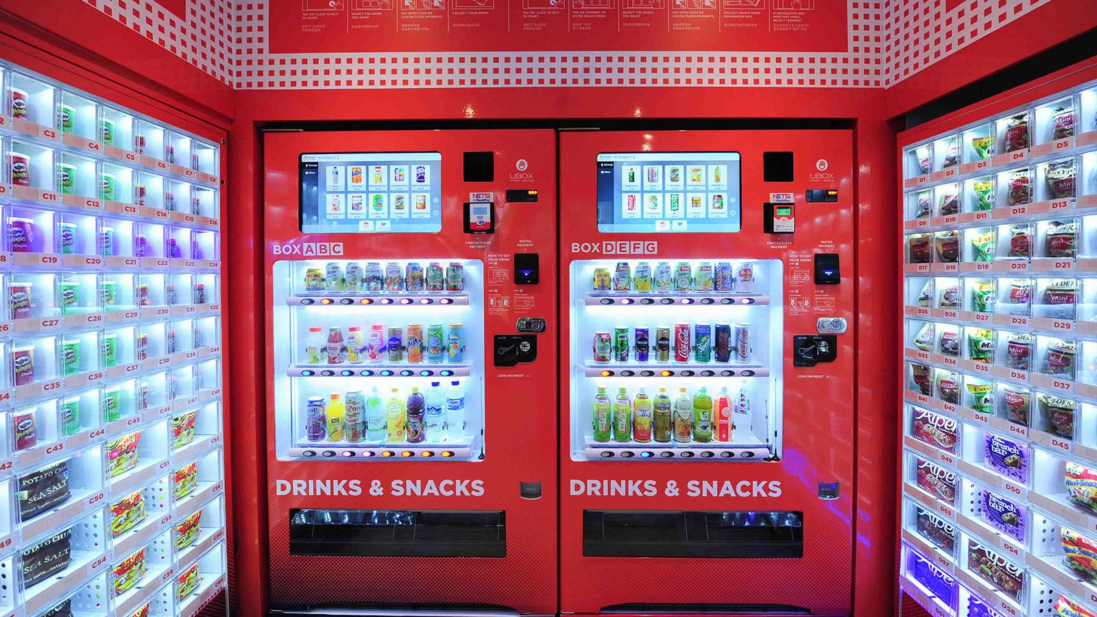 Singapore vending machines dispense amazing array of things