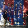 pique poster defaced