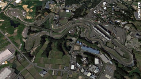 Suzuka is the only figure-of-eight track on the F1 calendar