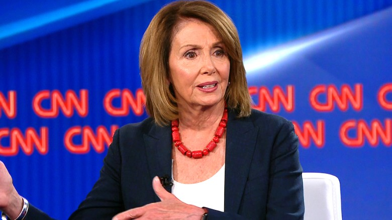 Pelosi talks gun violence with Vegas survivor
