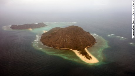 The island of Mer, also known as Murray Island, in the Torres Strait between Australia and Papua New Guinea.