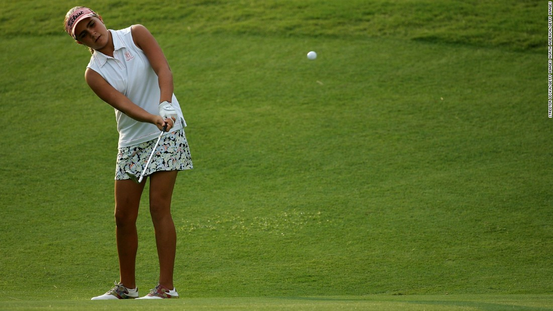 In 2007, at just 12 years of age, Lexi Thompson became the youngest golfer to qualify for the US Women's Open. She failed to make the cut but her record stood for seven years, before Lucy Li surpassed her in 2014.