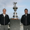 jimmy spithill oracle racing 2010 33rd americas cup trophy