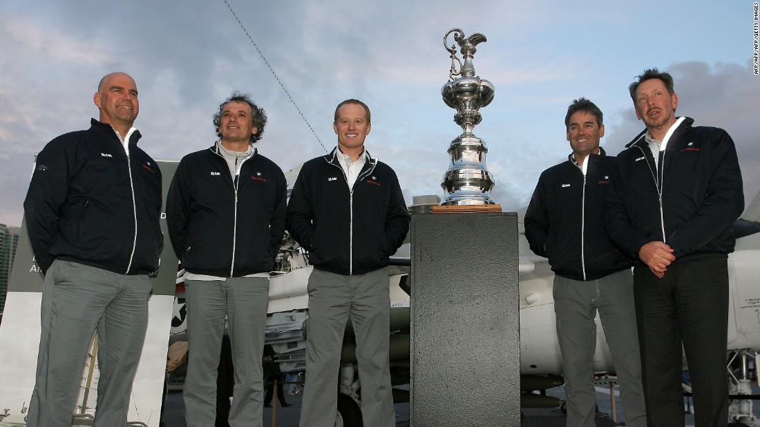But it was sailing where he made his name, becoming the then-youngest skipper to win the America's Cup, with the BMW Oracle team in 2010.