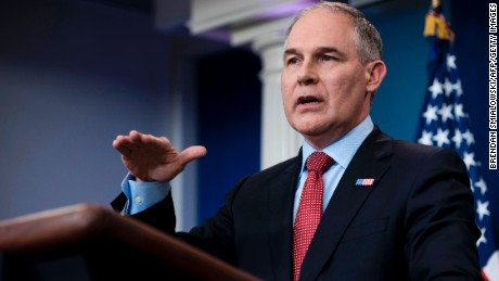 Pruitt: Scientists receiving federal grants will be cut from EPA advising roles