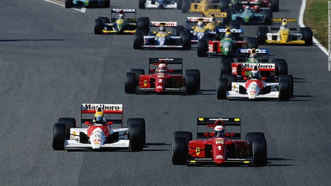 The pair would clash again at the start of the Japanese Grand Prix the following season.