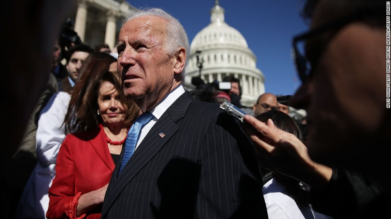 Biden: US walking down a dark path