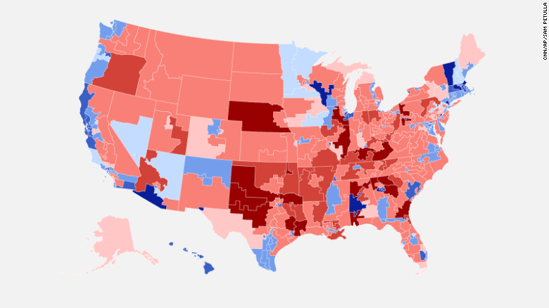 Heres Why Republicans Are In Deep Trouble In  CNNPolitics - Political map 2018 us house