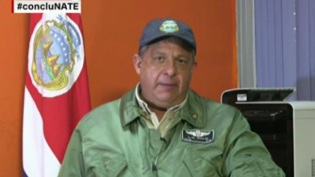 cnnee conclusiones intvw presidente costa rica tormenta tropical nate luis guillermo solis_00000406