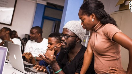Andela, a tech company, scouts for smart Nigerians with talent for tech, trains them and places them to work for international companies like Microsoft, while still based in Nigeria.