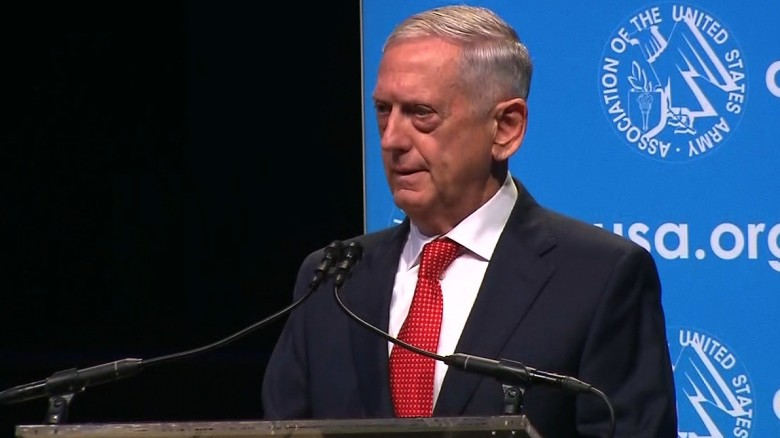 Mattis on North Korea: Army must stand ready