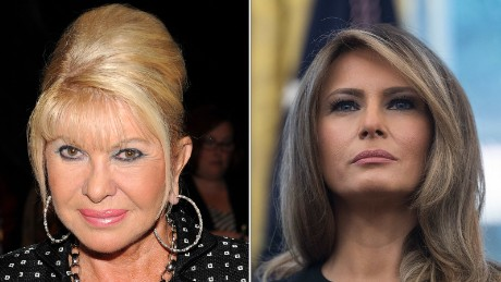 Melania Trump responds to Ivana Trump calling herself 'first lady'