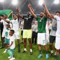 saudi arabia celebrate world cup king abdullah sports city