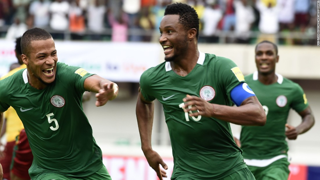 Nigeria were the first team from Africa to qualify for the upcoming World Cup, seeing off Group B opponents Zambia, Cameroon and Algeria.