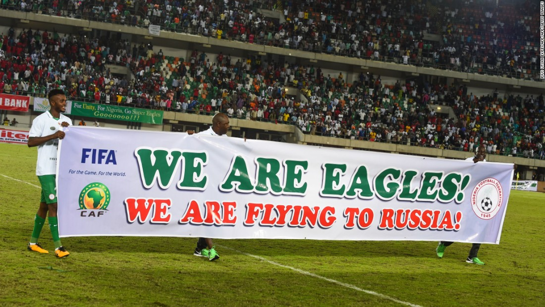 The Super Eagles have only failed to qualify for one tournament -- Germany 2006 -- since their World Cup debut in 1994.