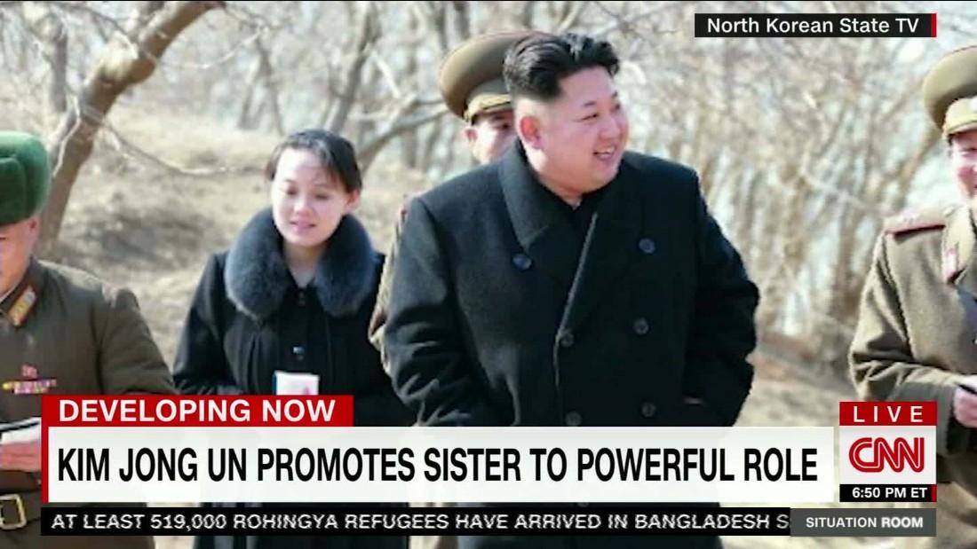 N.Korea: Kimu0027s Sister Promoted   CNN Video