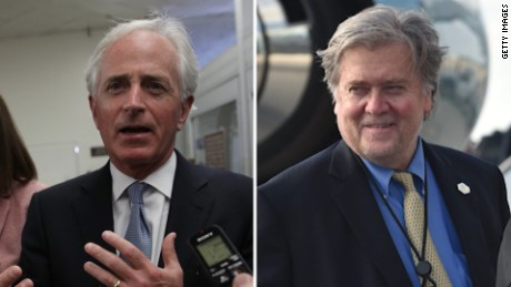 Bannon calls for Sen. Bob Corker to resign