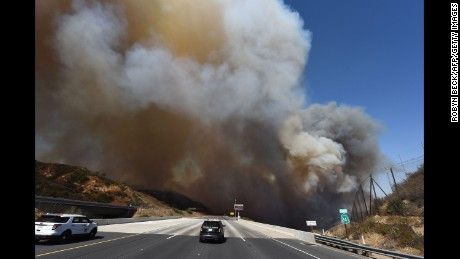 Week of wildfires polluting air as much as year of cars