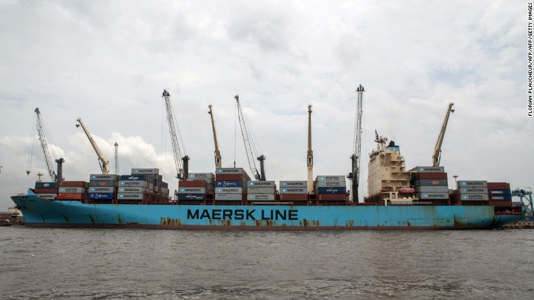 The majority of Nigeria's exports and imports go through its seaports.