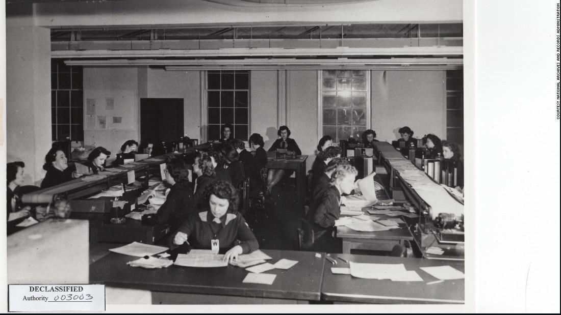 Female code breakers: The hidden figures of the greatest generation