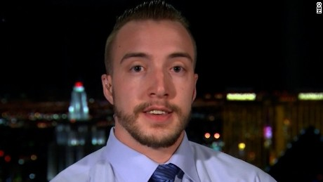 Hotel worker gives account of Vegas shooting