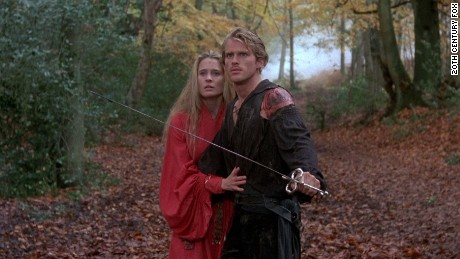 "Robin Wright and Cary Elwes in ""The Princess Bride"" (1987)."