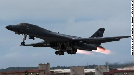 US bombers conduct drills off both coasts of Korean Peninsula