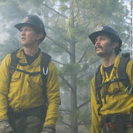 Miles Teller, Taylor Kitsch in 'Only the Brave'