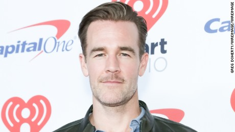 James Van Der Beek arrives at the 2017 iHeartRadio Music Festival at T-Mobile Arena on September 22, 2017 in Las Vegas, Nevada.  (Photo by Greg Doherty/WireImage)