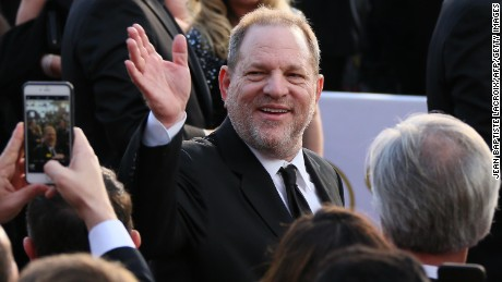 Harvey Weinstein arrives on the red carpet for the 88th Oscars on February 28, 2016 in Hollywood, California. 