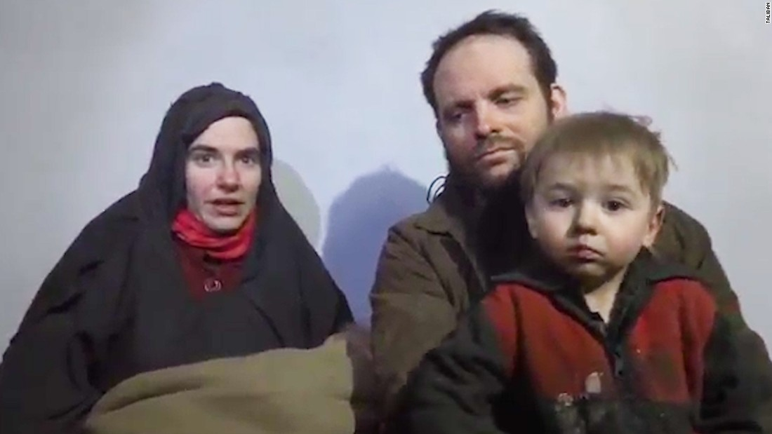 American woman and family freed from Taliban