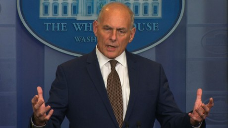 Kelly: My job isn't to control Trump