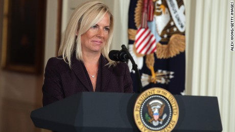 DHS nominee Kirstjen Nielsen: 'No need for a wall from sea to shining sea'