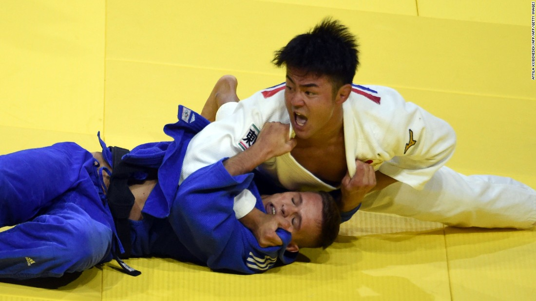 His sights are now set on being the dominant force in his division at the next Olympics in his home town of Tokyo.
