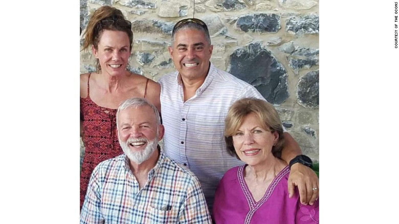 Monica Ocon, Luis Ocon, Carmen Berriz and Armando Berriz, clockwise from top left.