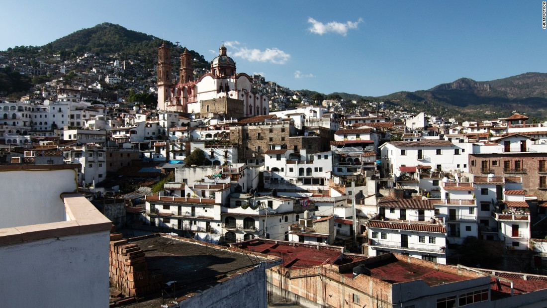 "<strong>Taxco, Guerrero:</strong> A small town in the mountains of the state of Guerrero, Taxco is known as the ""silver town"" due to all the mines located there."