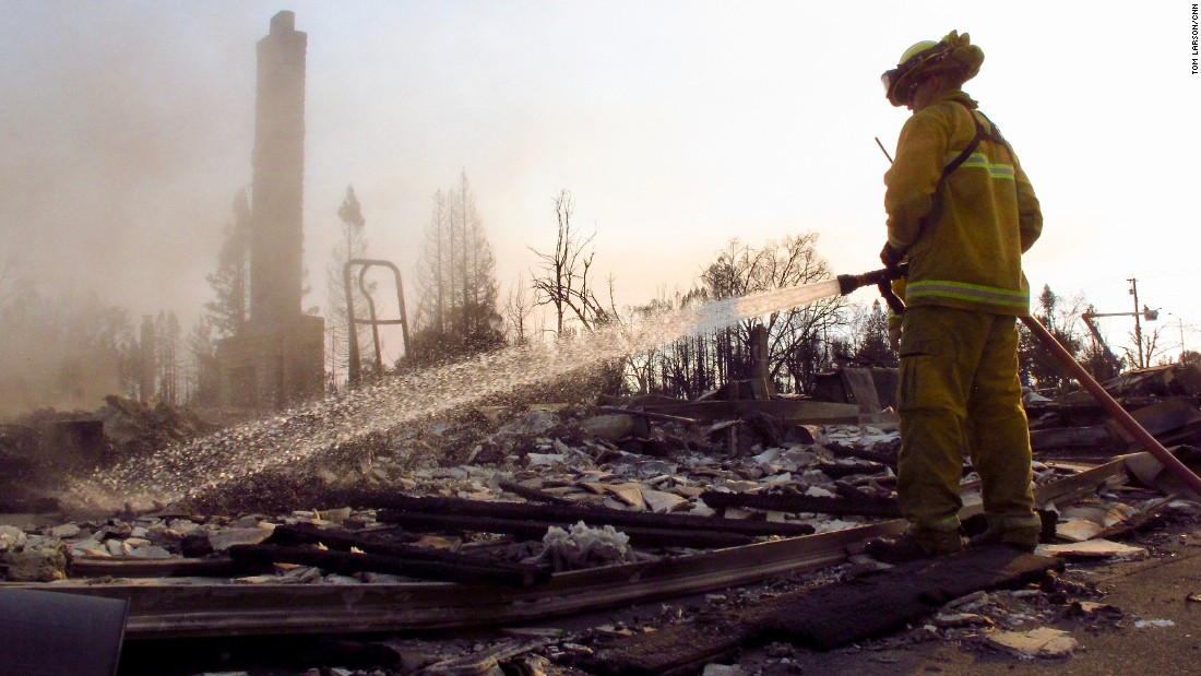 California fires: Deputies braved flames to evacuate residents