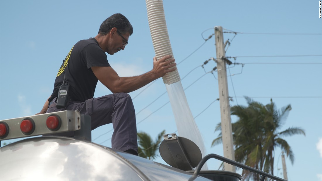 Puerto Ricans tap into potentially unsafe water