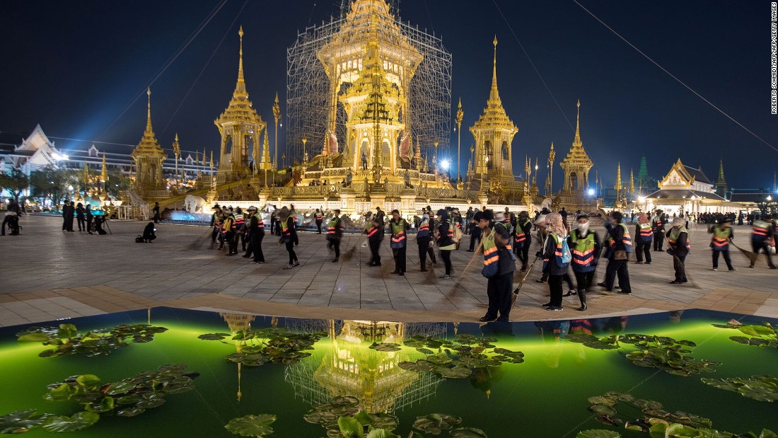 <strong>Official mourning period: </strong>The Royal Cremation Ceremony will also mark the end of the country's official mourning period.